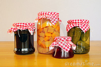 Homemade preserves