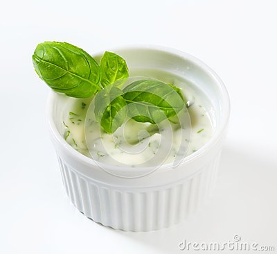 Free Homemade Ranch Dressing Royalty Free Stock Image - 32519546