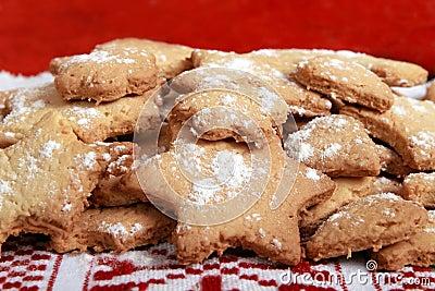 Homemade romanian cookies : Romania