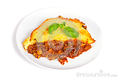 Homemade Shepherds pie with beef