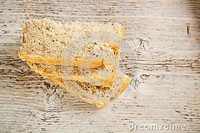 Homemade sliced bread