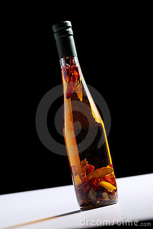 Homemade spice oil