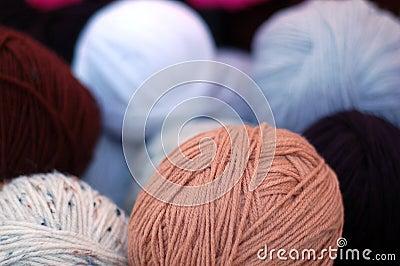 Homemade thread bunches