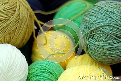 Homemade thread bunchs