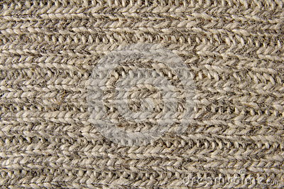 Homemade wool stitch