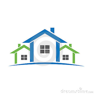 Free Homes Aligned Logo Stock Photography - 18697322