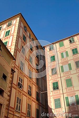 Homes in Camogli