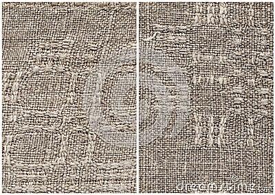 Homespun linen cloth