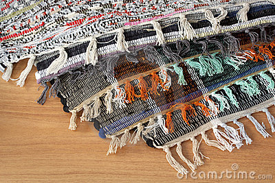 Homespun mat