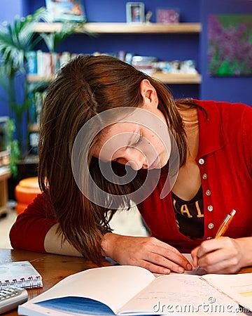 Free Homework Stock Photo - 6914940