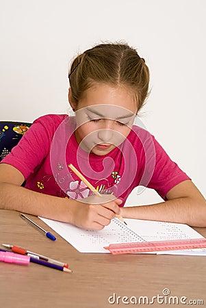 Free Homework I Stock Images - 2917554