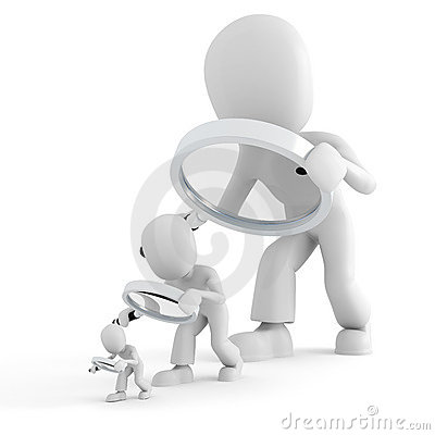 Ant With Magnifying Glass Clipart