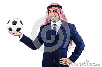 Homme d affaires arabe