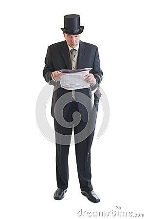 homme d 39 affaires dans un r tro costume photo stock image 33492000. Black Bedroom Furniture Sets. Home Design Ideas