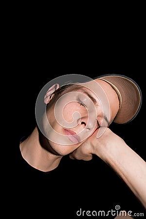 Homme de sommeil
