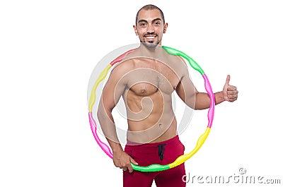 Homme faisant des excecises