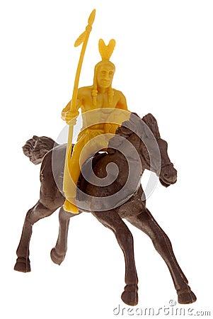 homme indien sur le jouet de cheval photos libres de droits image 2181468. Black Bedroom Furniture Sets. Home Design Ideas
