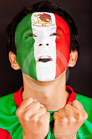 Homme mexicain Excited
