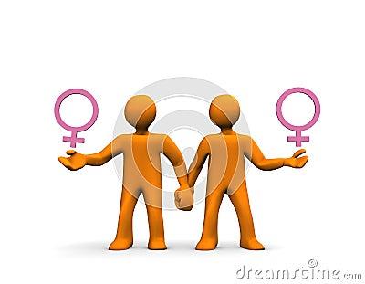 Homosexual Lesbian