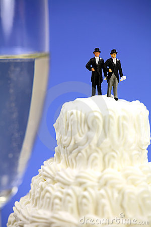 Homosexual o concepto del matrimonio homosexual.