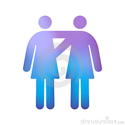 Homosexuelle weibliche Paare
