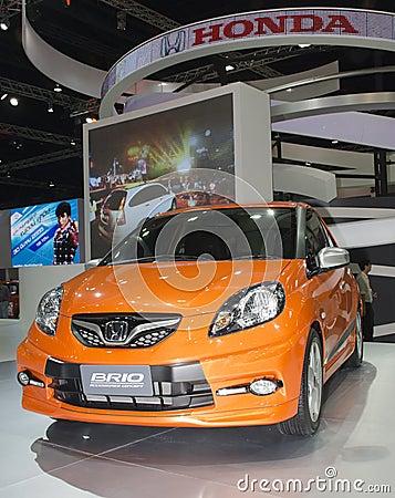 Honda Brio Editorial Stock Photo
