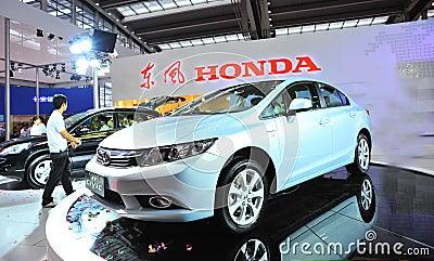 Honda civic Editorial Photography