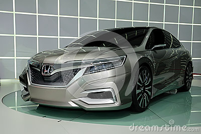 Honda Concept  C concept car Editorial Image