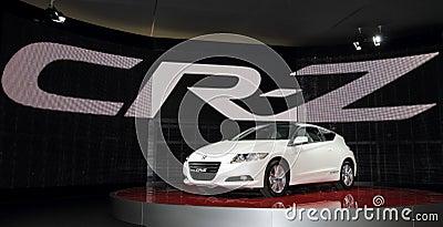 Honda CR-Z - 2010 Geneva Motor Show Editorial Image