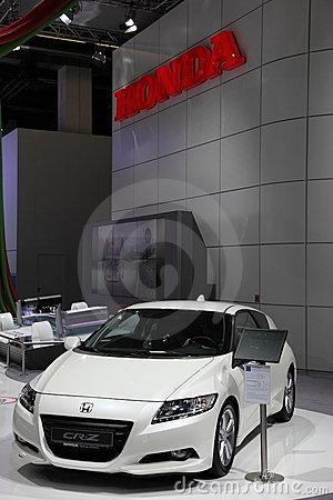 Honda CR-Z at the IAA, Frankfurt Editorial Stock Image