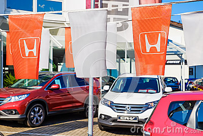 Honda dealership Editorial Image