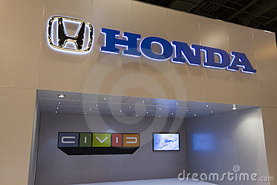 Honda Display Editorial Photography
