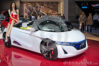 Honda EV concept Editorial Photography
