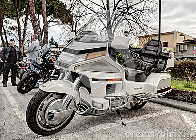 Honda goldwing 1500 6 cylinder Editorial Stock Image
