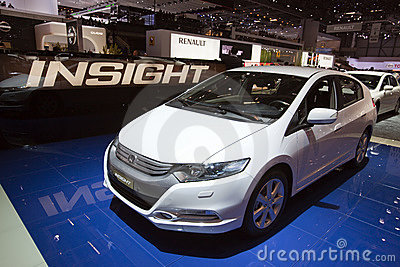 Honda Insight Hybrid - 2009 Geneva Motor Show Editorial Photo