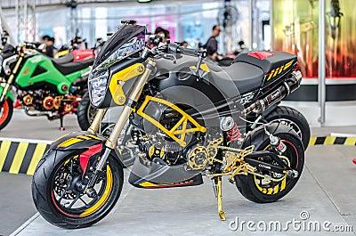 Honda MSX Motorcycle in