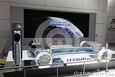 Honda Plug-In Hybrid Concept Editorial Photography