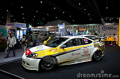 Honda race car Editorial Photography
