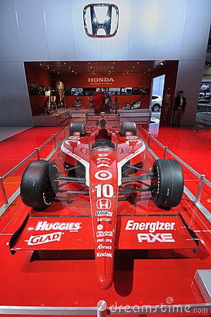 Honda race car Editorial Stock Photo