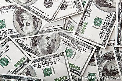 Honderd dollarsrekeningen