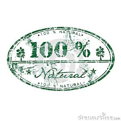 Honderd percenten natuurlijk