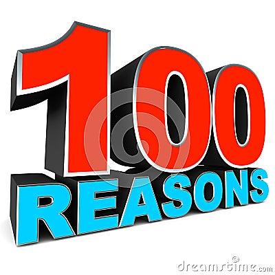 Honderd redenen