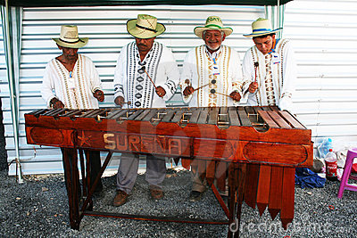 Honduras musicians Editorial Photography