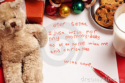 Honest child Christmas wish