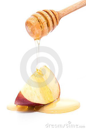 Free Honey And Apple Royalty Free Stock Image - 11876876