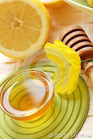 Free Honey And Lemon Stock Photos - 2579603