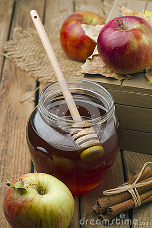 Honey And Apples Stock Image - Image: 27041051