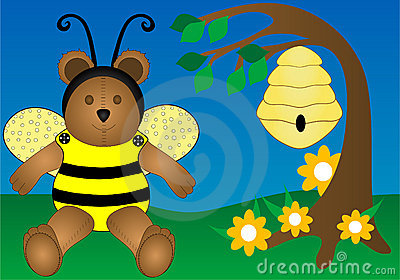 Honey Bee Bear