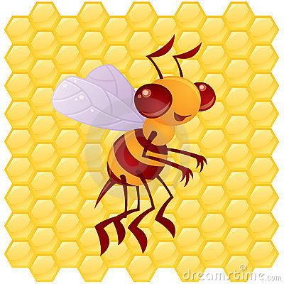 Honey Bee Character