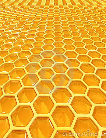 Free Honey Cells Stock Photo - 4554840